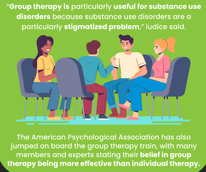 Group Therapy Is particularly useful