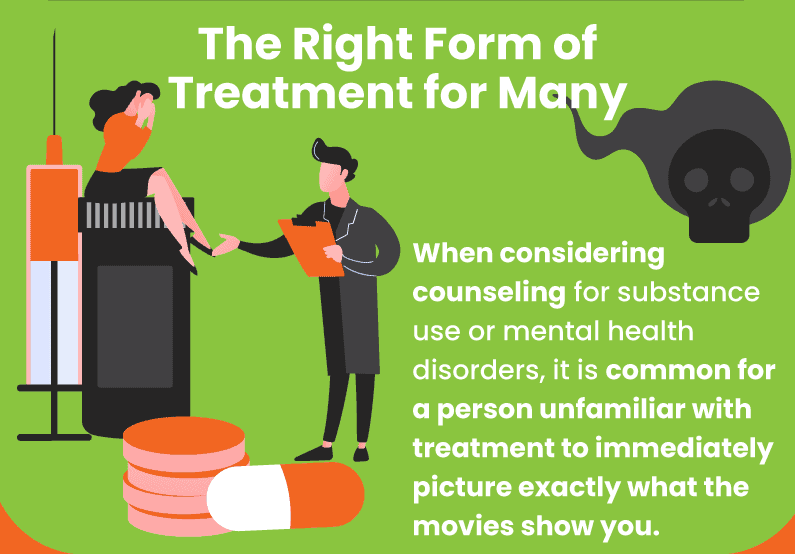 The right form of treatment for many.